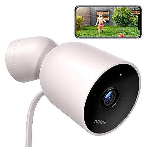 Nooie beveiligingscamera 1080p met nachtzicht, WiFi en audioverbinding