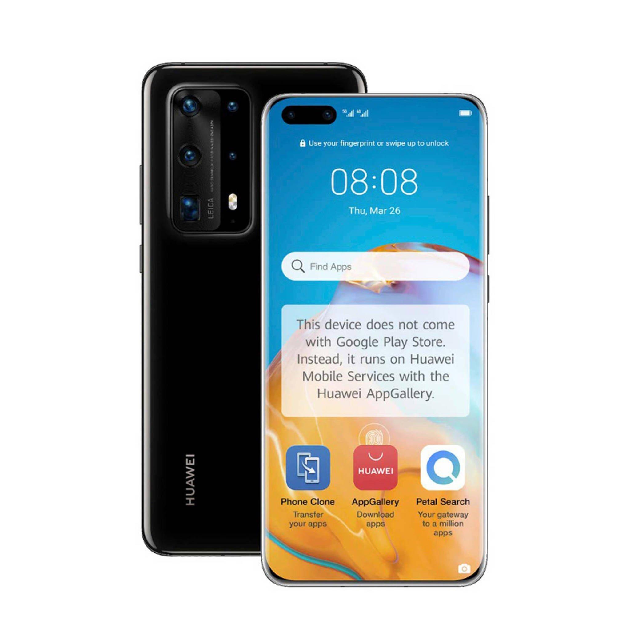 Huawei P40 Pro+ (zwart)