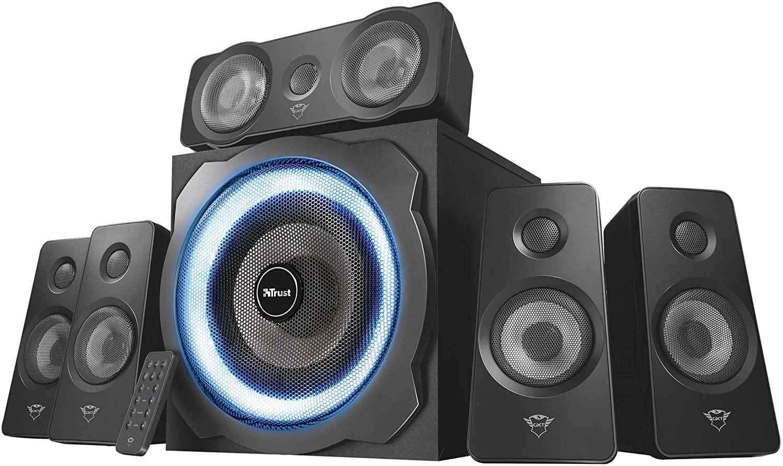 Trust GXT 658 Tytan 5.1 Surround Speaker System luidspreker @ Amazon.nl