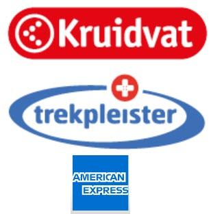 Besteed € 10 en ontvang € 5 terug bij Kruidvat of trekpleisster met AMEX