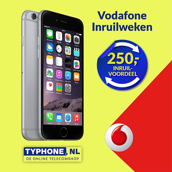 Max €250 korting bij iPhone 6/6s / Galaxy S6 Inruilweken @ Typhone