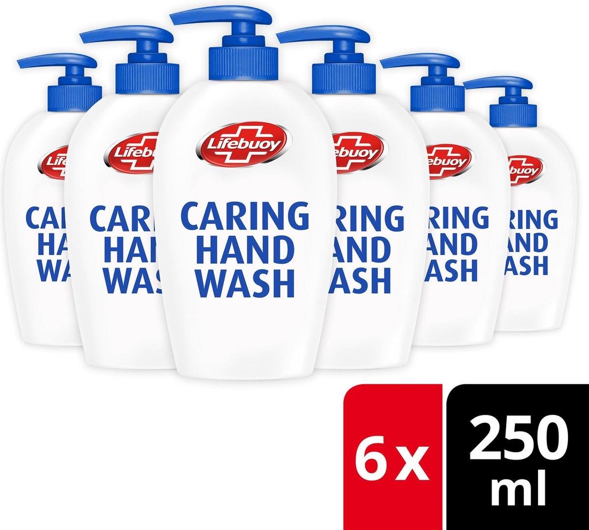 [SELECT] 6x 250ml Lifebuoy Caring Handzeep @ Bol.com