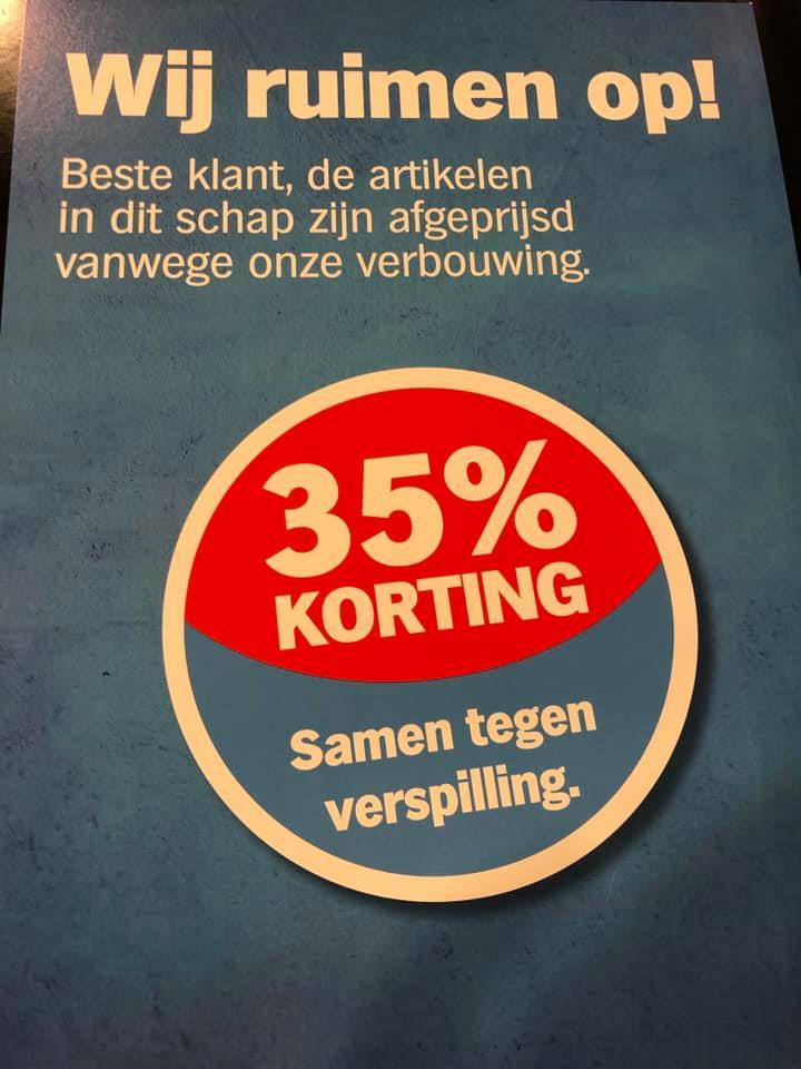[Lokaal] Kortings wegens verbouwing bij Albert Heijn Maagdenberg (Venlo)