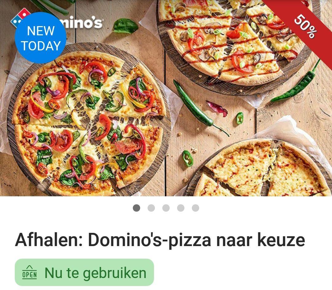 (LOKAAL) Domino pizza Someren - Asten afhalen vanaf 3,99 eur