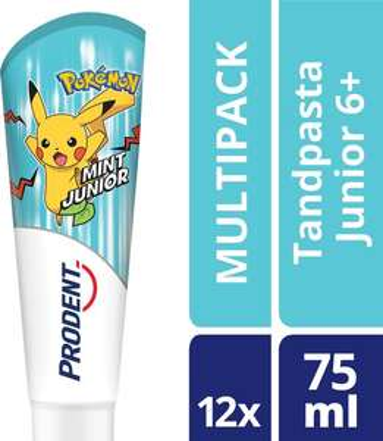 12x prodent Pokemon tandpasta