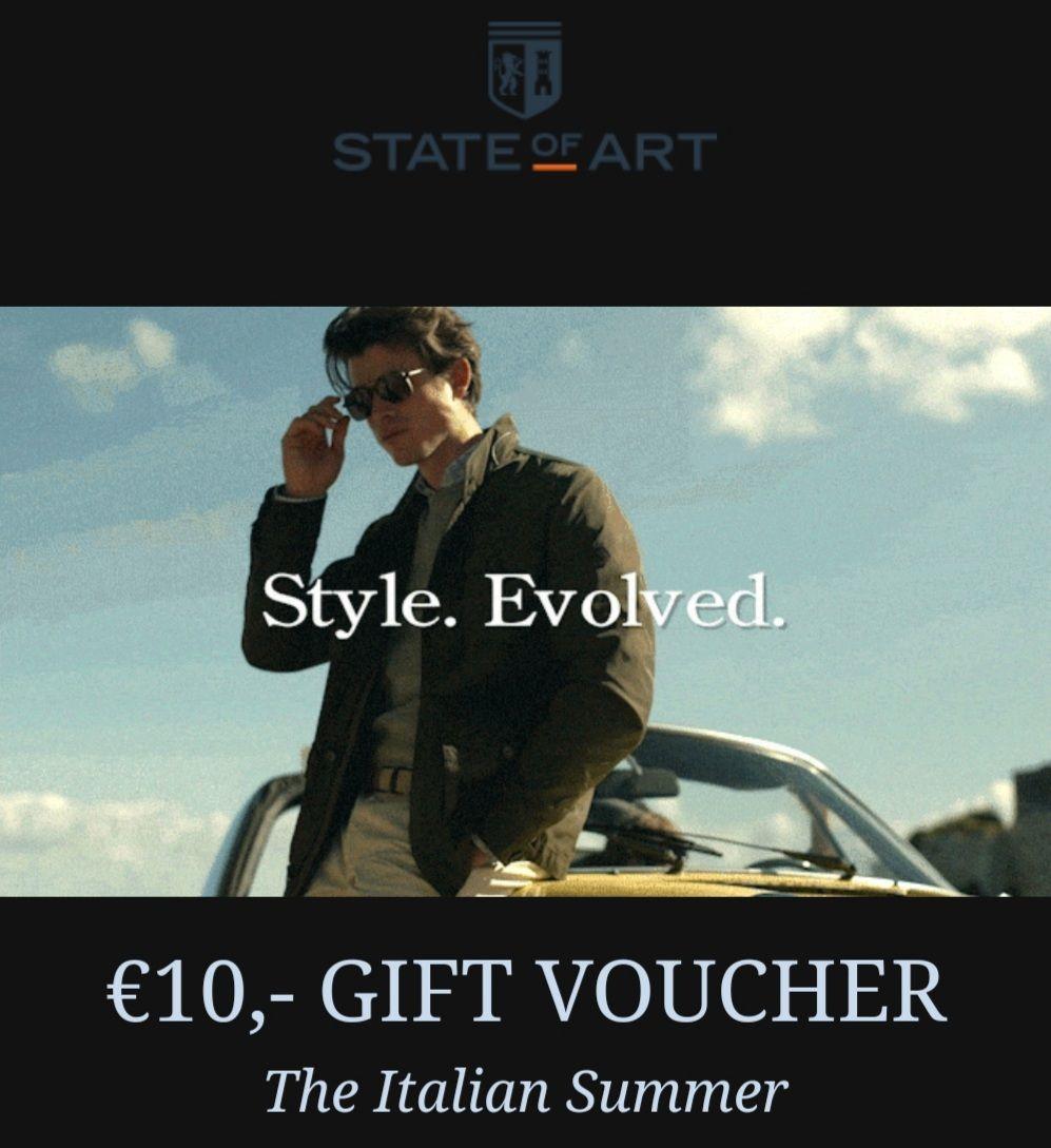 €10,- Kortingscode bij State Of Art