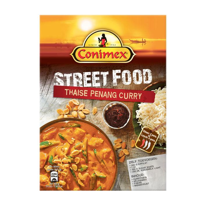 Conimex maaltijdpakket - Thaise Penang Curry voor €0,39 @ Die Grenze