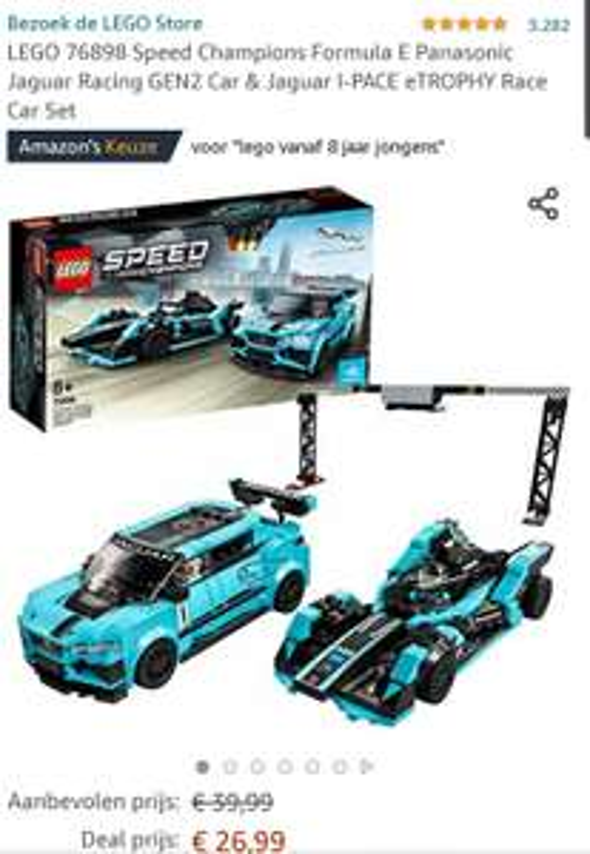 Lego speedchampions Jaguar racing set 76898
