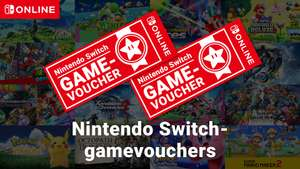 Nintendo Switch 2x game voucher (Nintendo online members Only!)