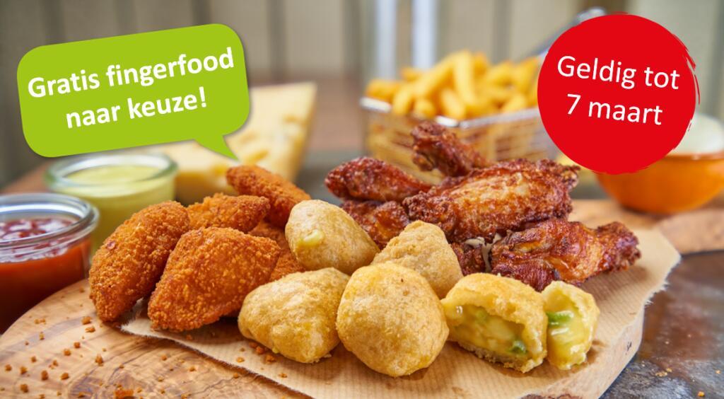 BurgerMe - gratis portie fingerfood bij besteding van minimaal €15