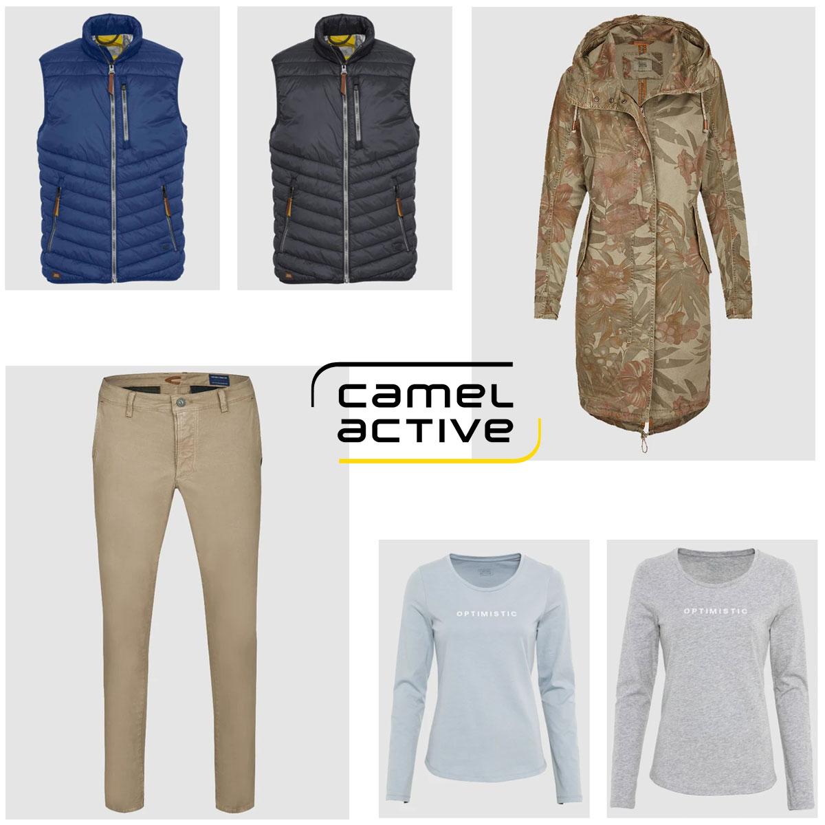 Camel Active dames & herenkleding 50-70% korting