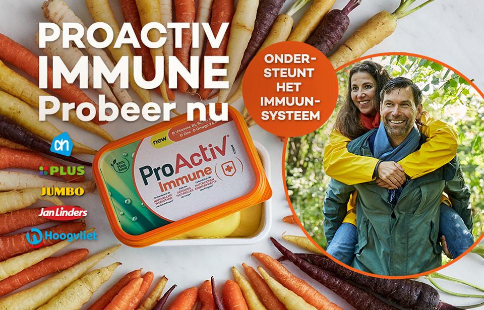 Becel ProActiv immune gratis proberen!