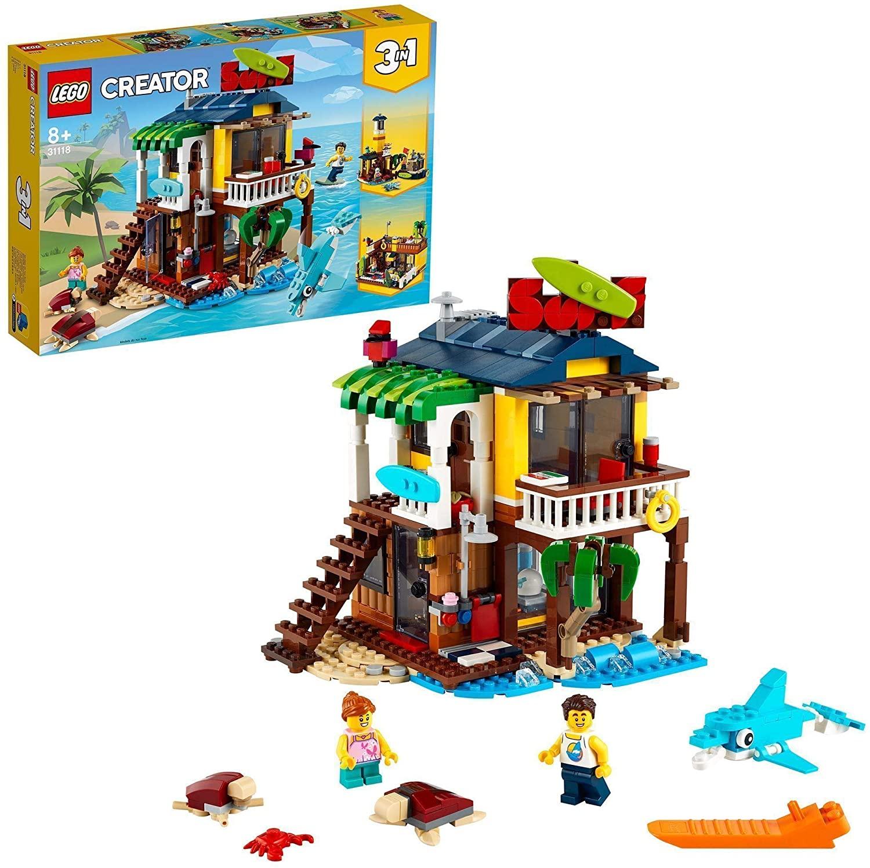 LEGO Creator Surfer Strandhuis - 31118 inclusief kortingscode voor €23,54