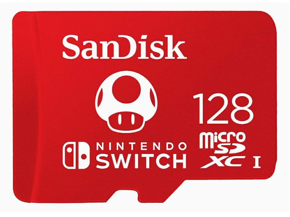 Sandisk 128GB extreme micro Sdxc voor nintendo switch