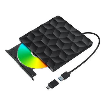 BlitzWolf BW-VD1 USB3.0 Type-C DVD-brander/speler