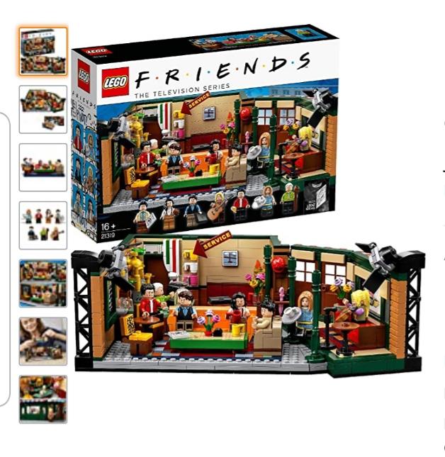 Lego 21319 Friends the television series @ Amazon.nl en bij Bol.com