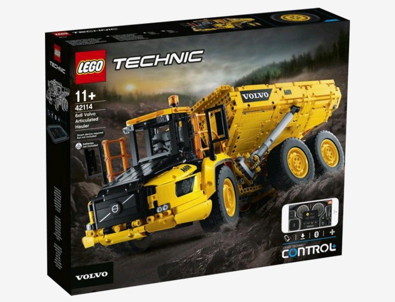 Lego technic Volvo 6 x 6 42114