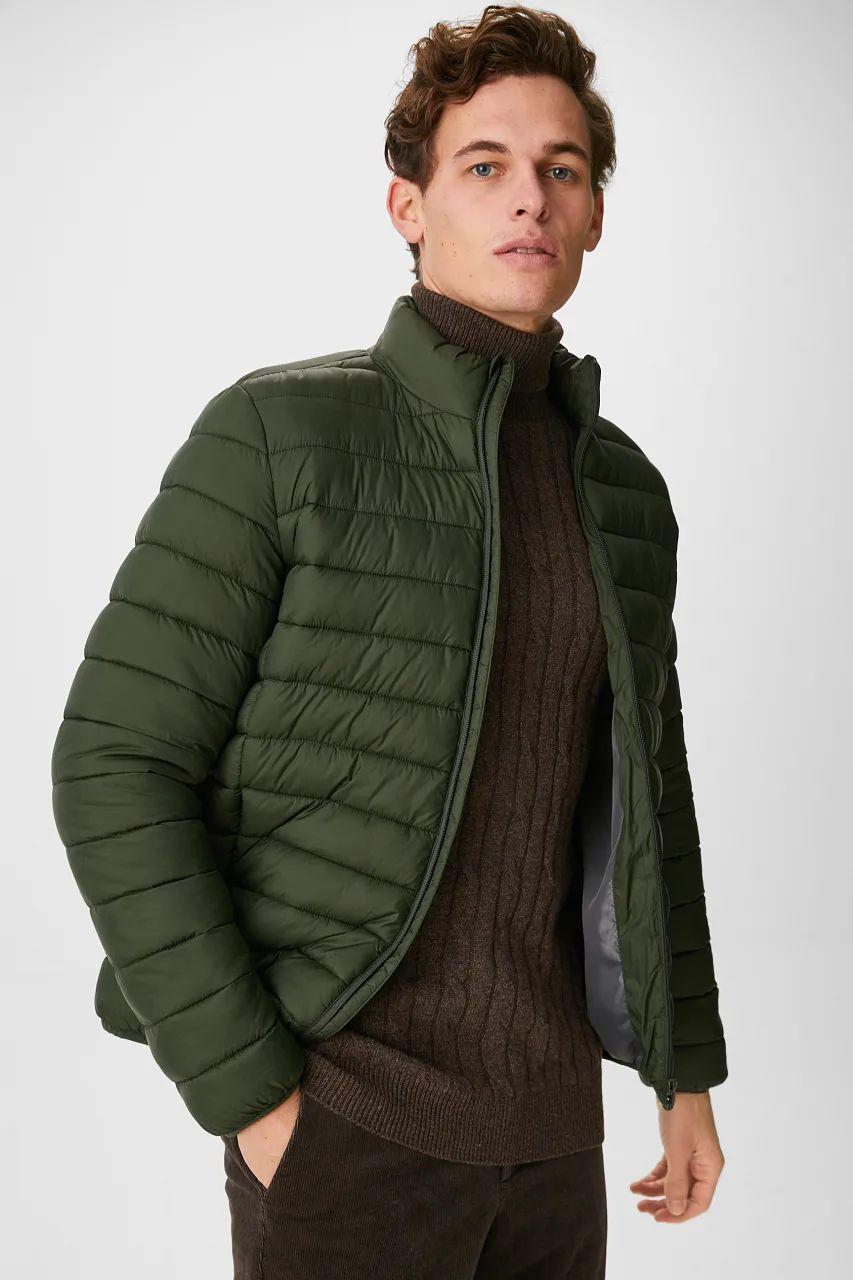 C&A Den bosch: Gewatteerde jas - gerecycled