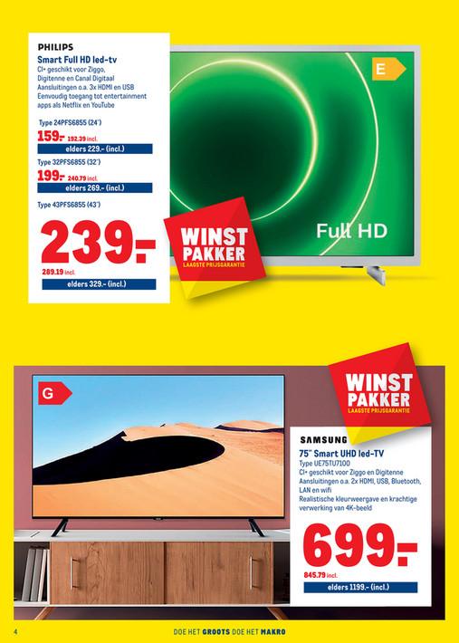 """75"""" Smart UHD LED-TV UE75TU7100"""