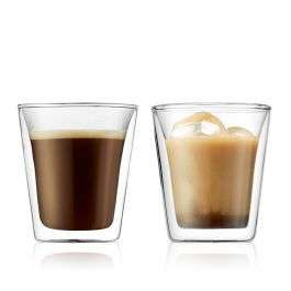 Bodum Canteen Dubbelwandig glas 0.2 L (set van 2) voor €10,75 @ Bodum
