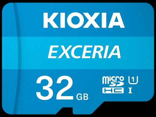 Kioxia (Toshiba) , 32GB microSD EXCERIA + SD-adapter