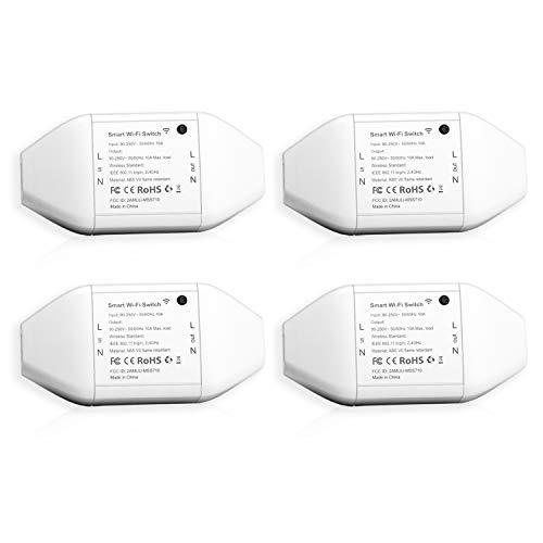 [4 stuks] Meross WLAN schakelaar voor elektrische apparaten voor €19,89 @ Amazon DE