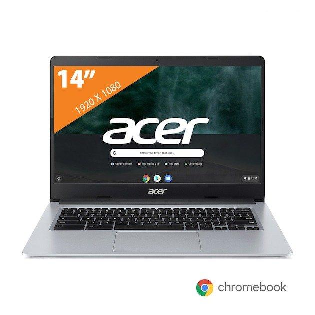 """Acer Chromebook 14"""" / 4GB / 64GB / Intel Celeron 1,1 - 2,8 GHz voor €239,20 @ Expert"""
