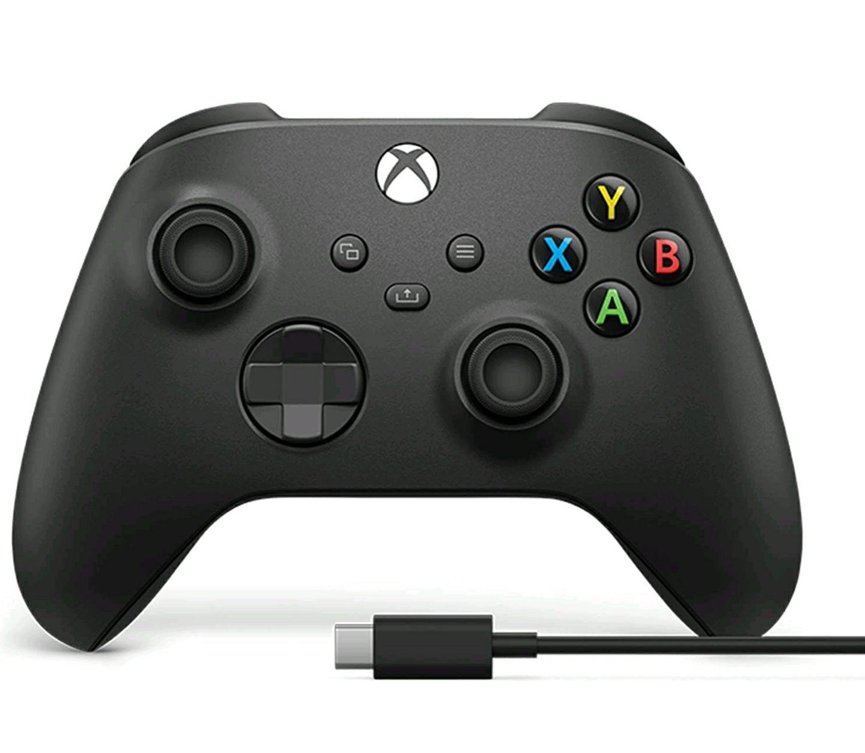 Microsoft Xbox Draadloze Controller (2020) + USB-C kabel - Zwart