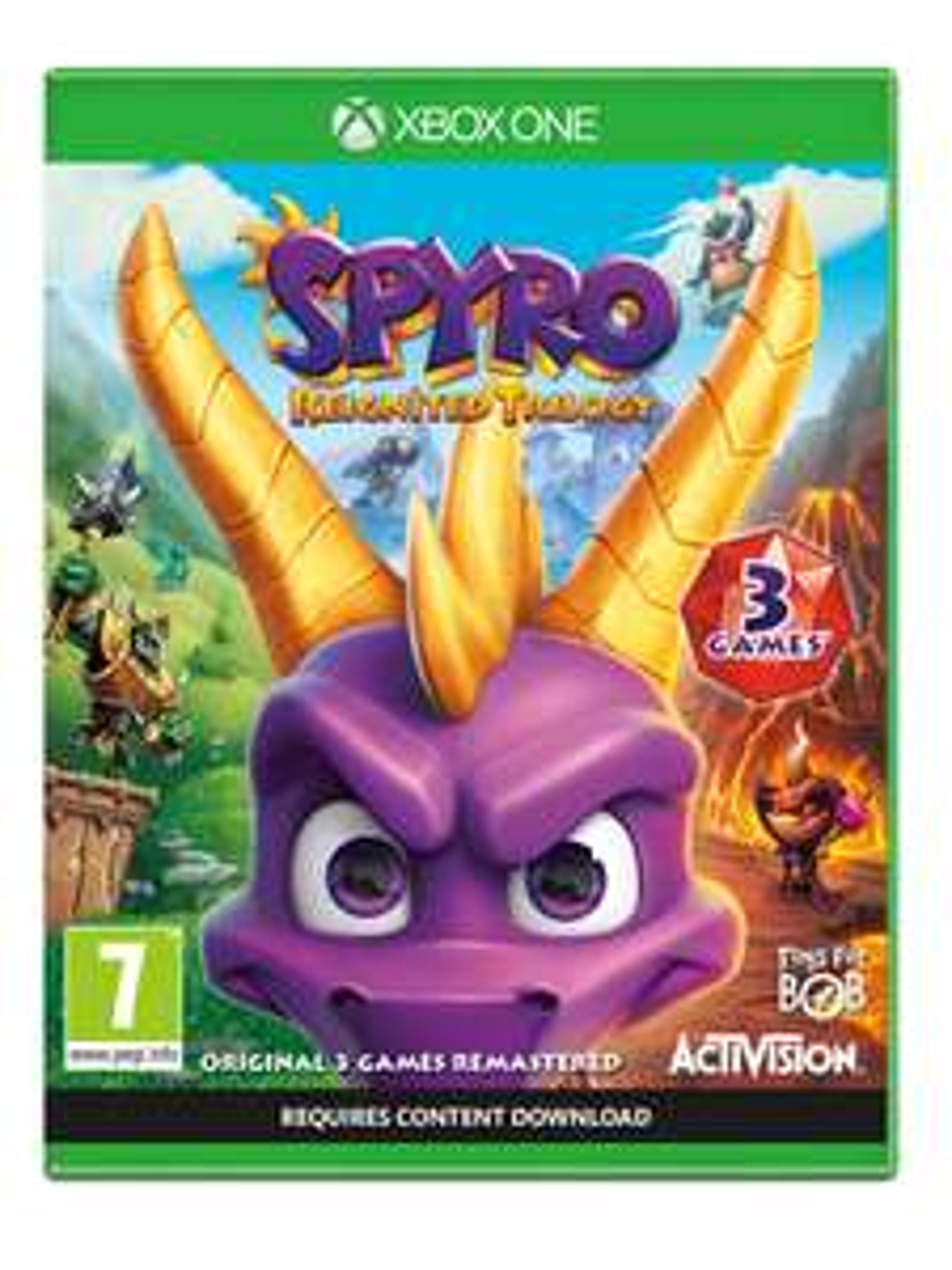 Spyro Reignited Trilogy Xbox One @ Intertoys