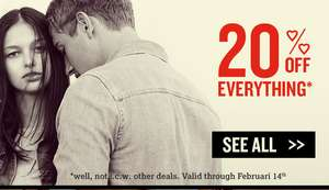 20% korting @ America Today