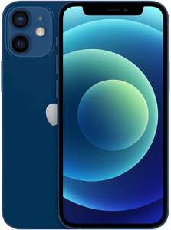 Apple iPhone 12 mini (64GB) - Blue/Zwart/Red