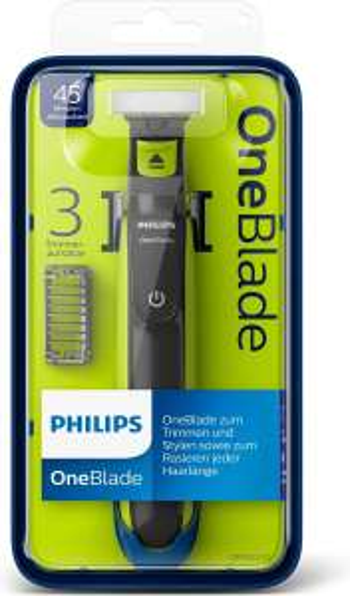 Philips OneBlade QP2520/20 voor €24,99 @ Kruidvat