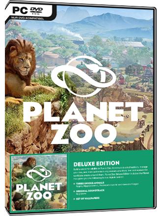 Planet Zoo - Deluxe Edition (Tweaker heeft deze game een 8 gegeven!)