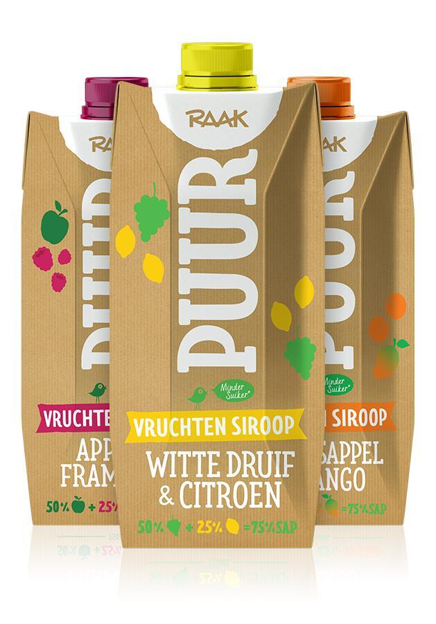 Raak Puur Vruchten Siroop (6 liter ranja) voor €0,59 @ Die Grenze