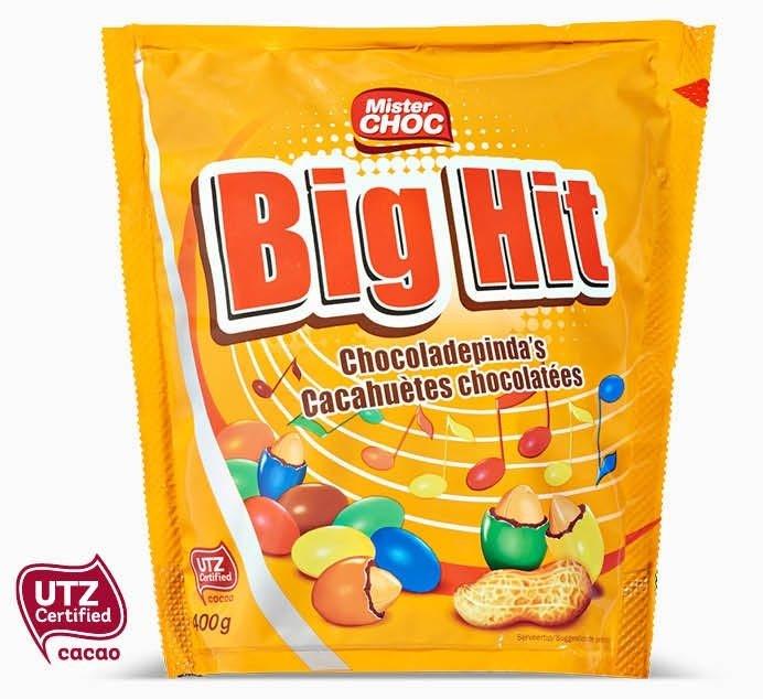Big Hit Chocoladepinda's met 50% korting @ Lidl met kortingscoupon