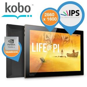 Kobo Arc 10 HD tablet voor €175,90 @ iBOOD