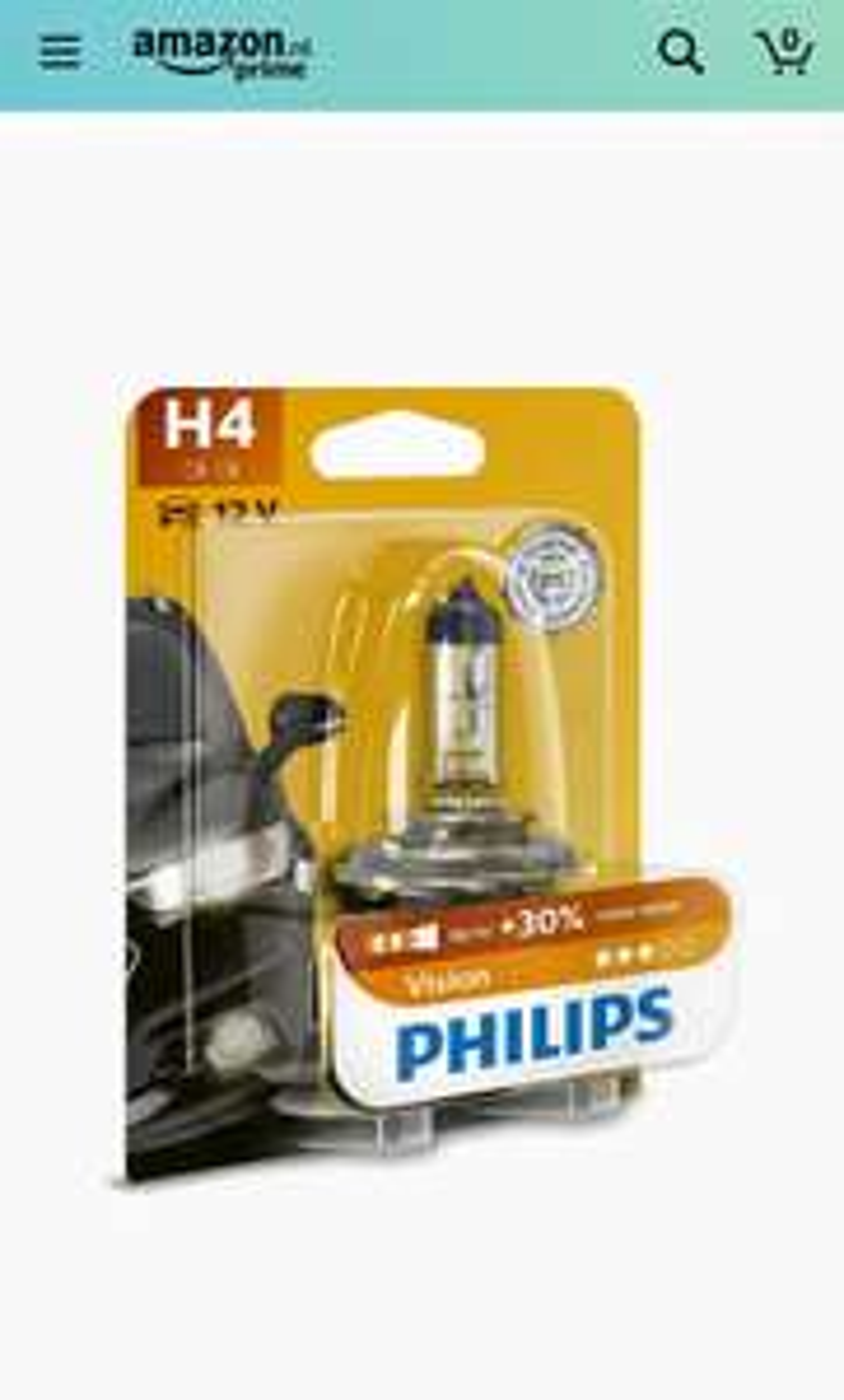 Philips Vision Koplampen