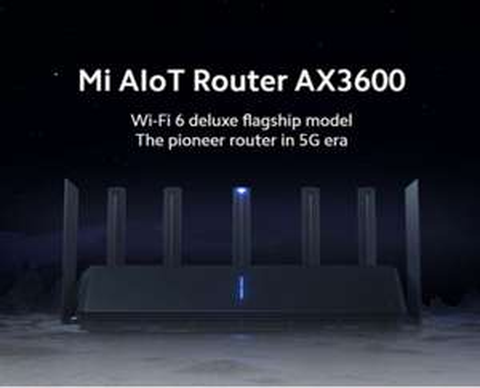 Xiaomi Mi Aiot Router AX3600 EU shipping