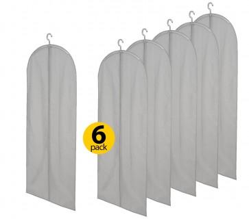 6-pack Leifheit kledinghoes 80020 60X144 cm grijs @ Dagknaller