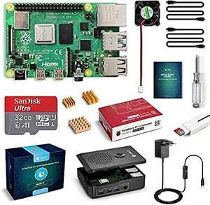 Labists Raspberry Pi 4 Model B 4GB Ultimate Kit