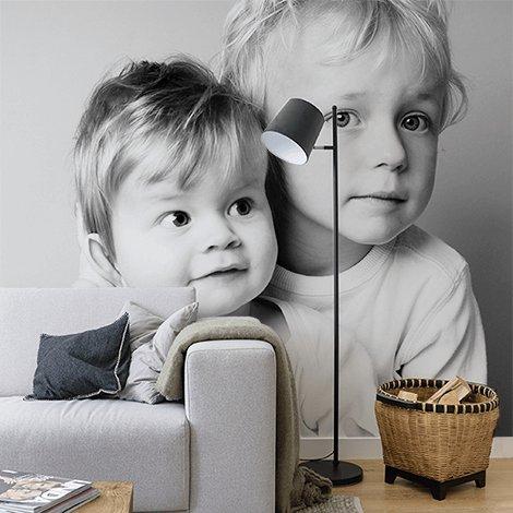 Vinylbehang met eigen foto naar keuze vanaf €14,75 @ Fotoproducten.nl