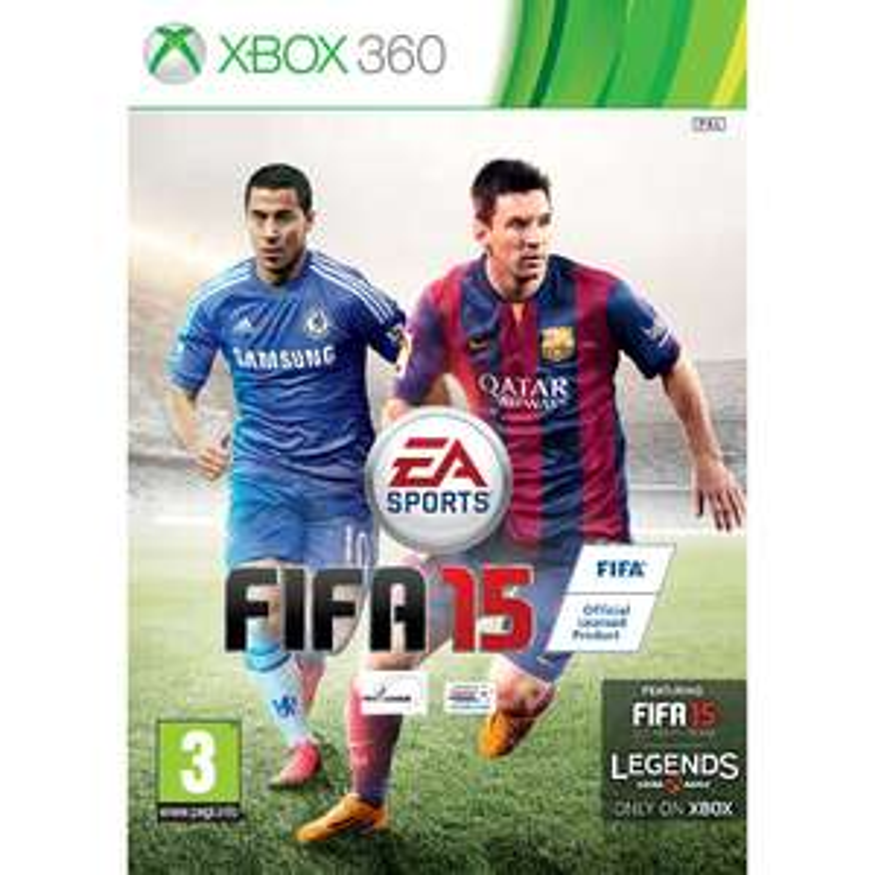 FIFA 15 + Lederen bal & 15 weken gouden FUT pakjes!