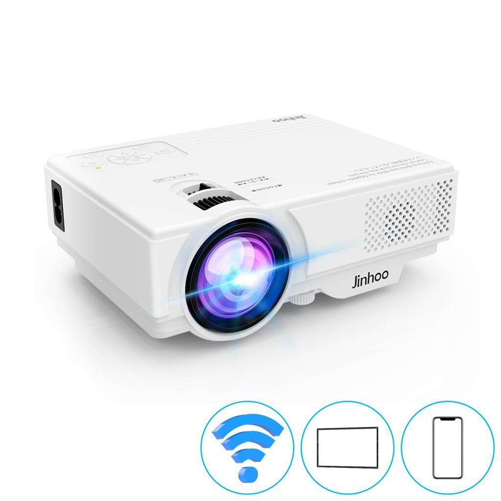WiFi-projector, projector van 5500 lumen Ondersteunt Full HD 1080P met tv-stick @ Amazon