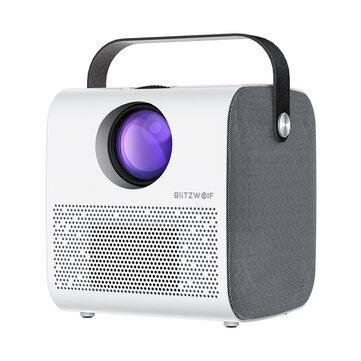 BlitzWolf BW-VP5 mobiele projector 720P/3800lm - Verzonden uit Tsjechië