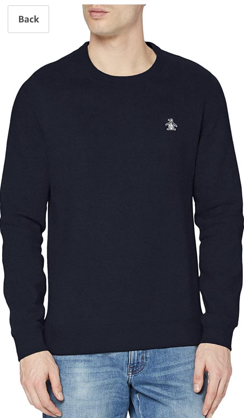 Penguin Heren Sweater maten XS tot L