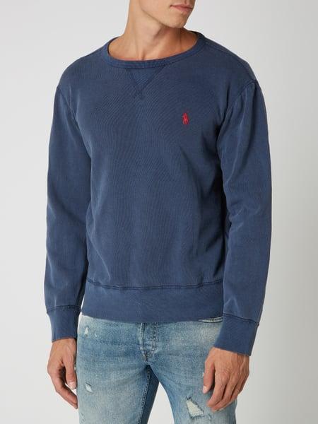 Polo Ralph Lauren Sweatshirt met geborduurd logo - Marineblauw