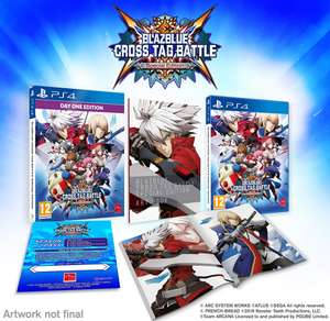 Blazblue Cross Tag Battle Special Edition Day One Edition PS4