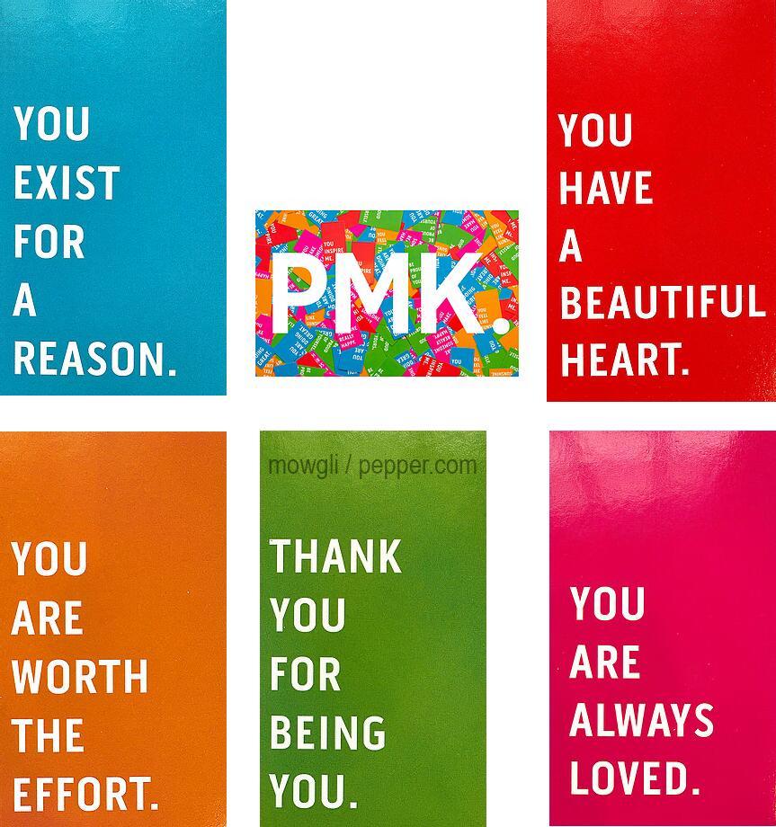 Gratis set vriendelijke kaarten (PMK - Engelstalig)