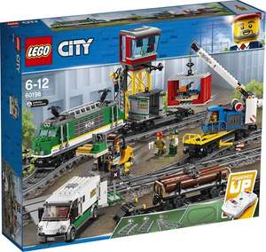 LEGO 60198 City Treinen Vrachttrein