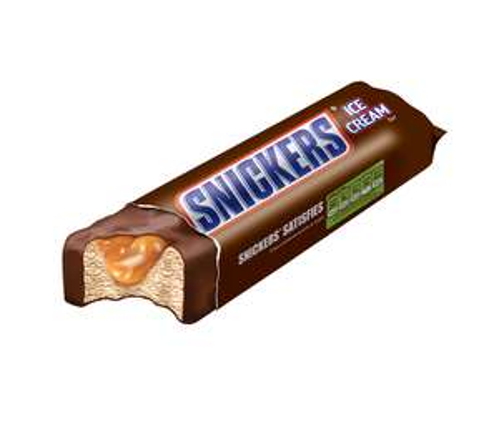 2 pakken Mars of Snickers ijs € 3 @ Deen